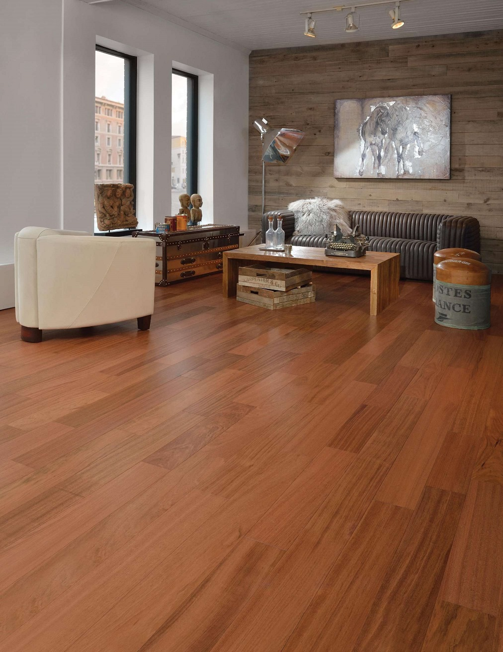 Mirage brazilian cherry engineered hardwood flooring 3 5 16 for Mirage wood floors