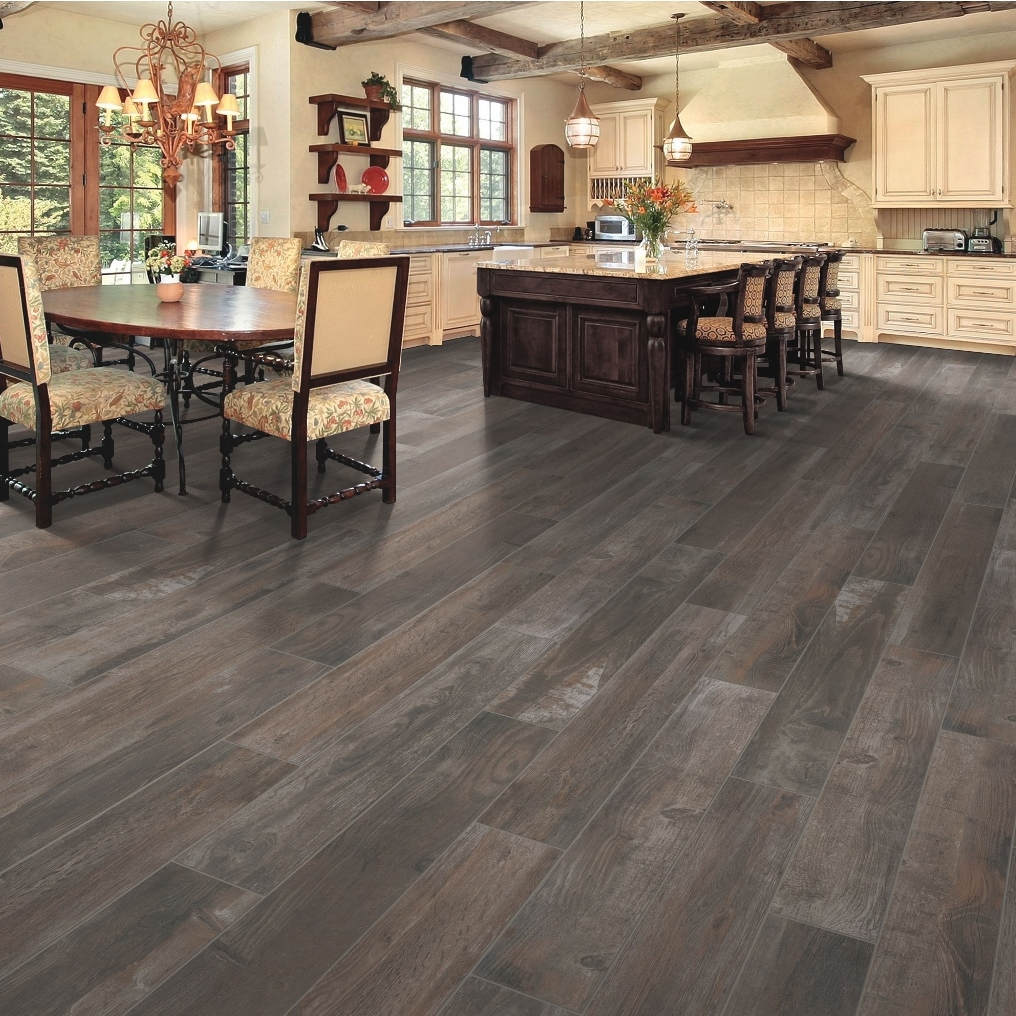 Mohawk Bryson Valley Tile Flooring - Daltile beachwood