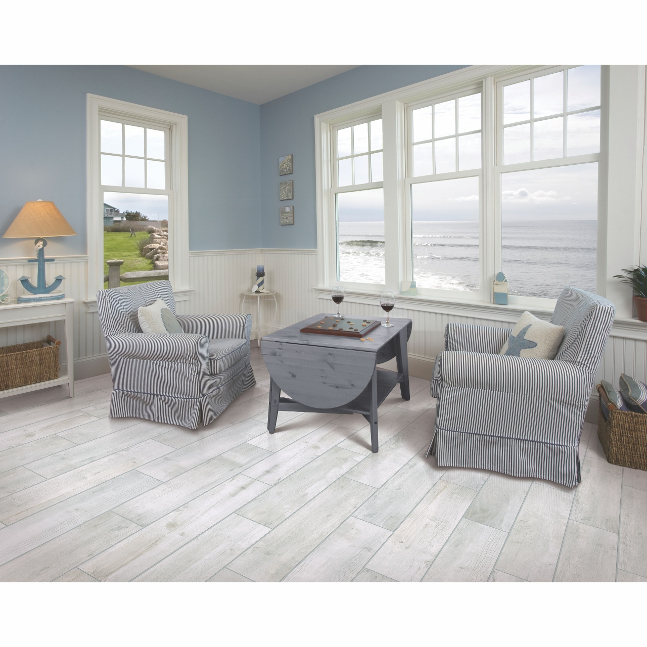 Mohawk Bryson Valley Coastal Beachwood Tile Flooring - Daltile beachwood