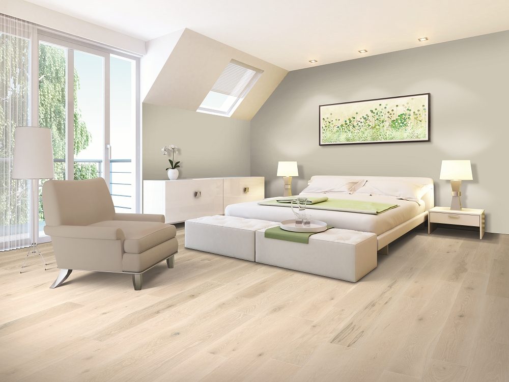 Mohawk Coastal Couture White Cap Hardwood Flooring
