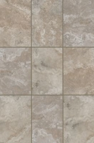 "Mohawk Cressone Musee Gray 4"" x 8"" Wall Tile"