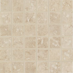 "Mohawk Steppington Beige 2"" x 2"" Mosaic"