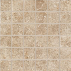 "Mohawk Steppington Taupe 2"" x 2"" Mosaic"