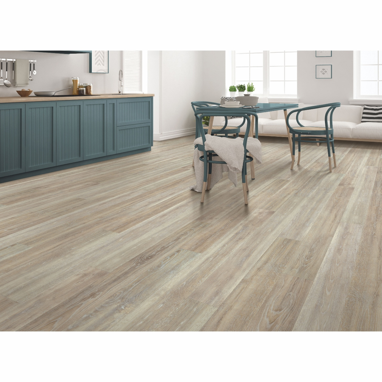 Mohawk True Design Fossil Grey Vinyl Flooring