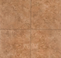 MS International Travertino Walnut 6 x 6