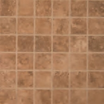 MS International Travertino Walnut Mosaic 2 x 2