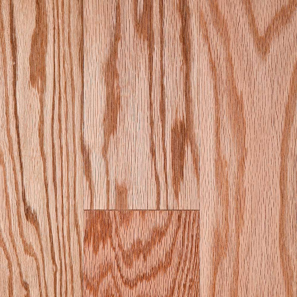 Mullican merion natural red oak hardwood flooring for Natural red oak floors