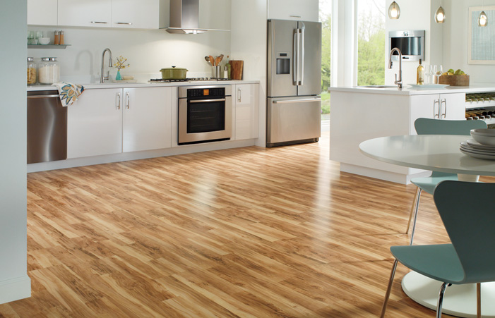 Quick Step Classic Flaxen Spalted Maple 2 Strip Laminate Flooring