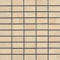 "Ragno Eternal Limestones Color Body BI Mosaic 1 1/4"" x 6 1/2"""