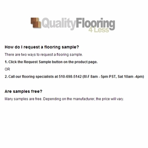 Request Flooring Samples