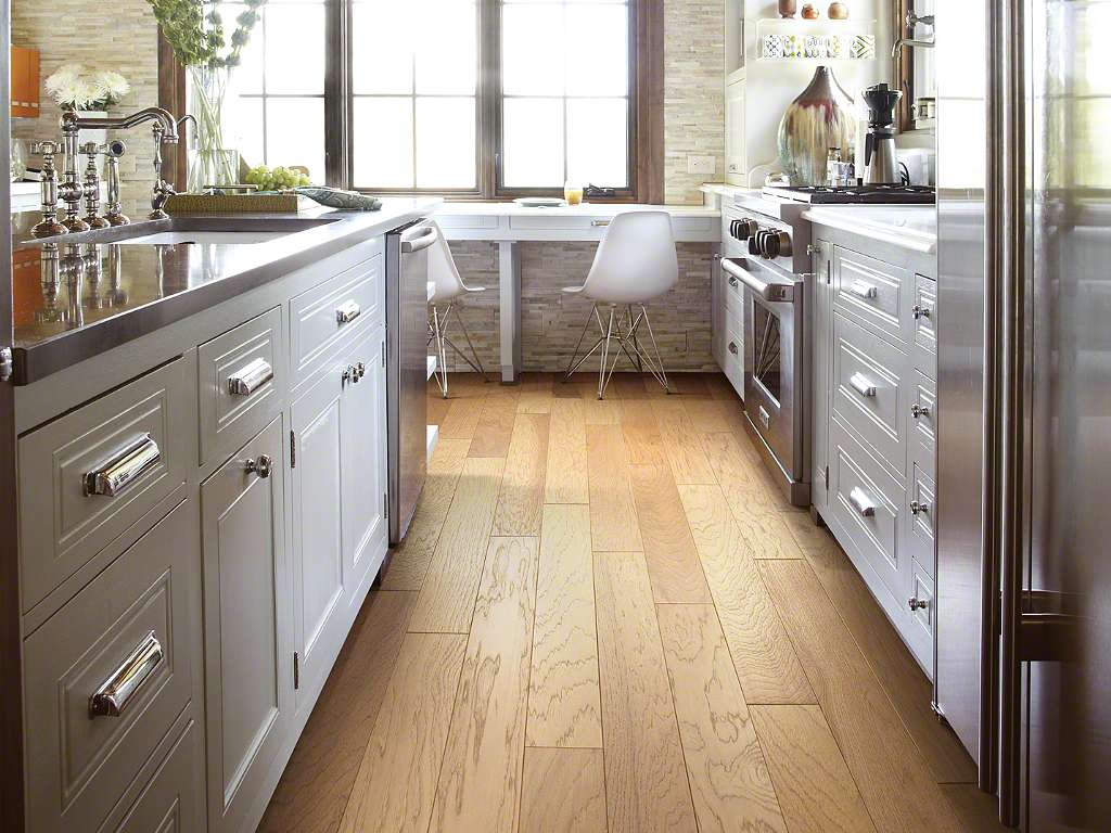 Shaw Brushed Suede Parchment 5 Engineered Hardwood Flooring