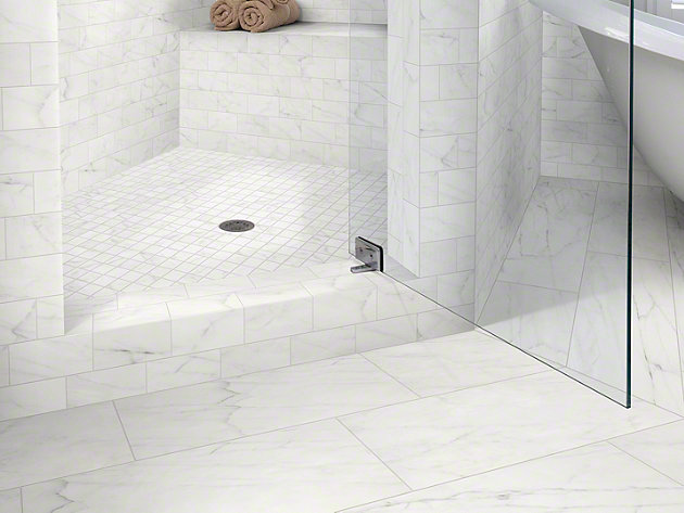 Shaw Maximus Carrara X Tile Flooring - Daltile cranbury nj