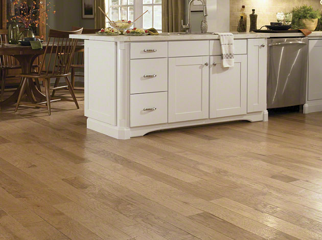 Shaw Pebble Hill Hickory Prairie Dust 5 Quot Engineered