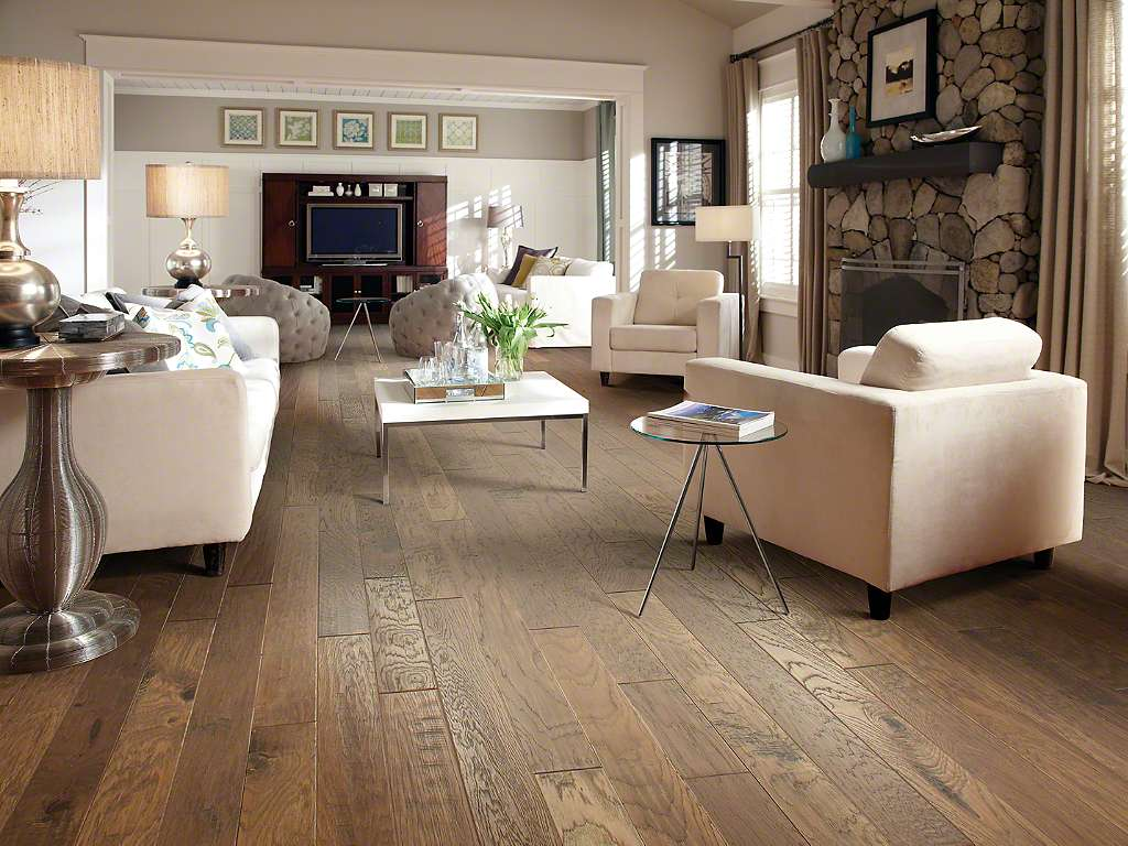 Shaw Sequoia Hickory Pacific Crest Multi Width Hardwood