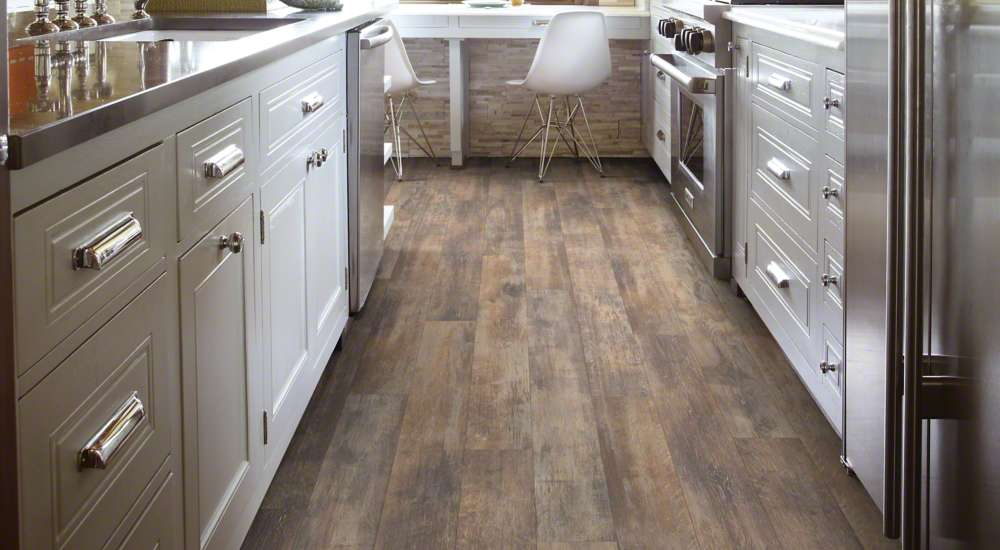 Shaw Vintage Painted Weathered Wall Laminate Flooring