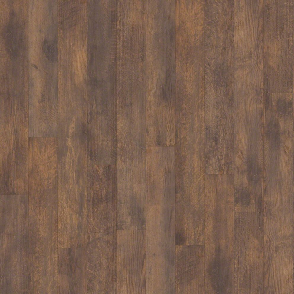 Shaw vintage painted wine barrel laminate flooring 5 7 16 for Shaw laminate