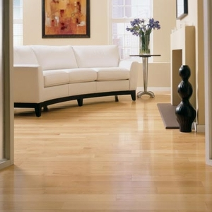 "Somerset Specialty Strip Maple Natural 3 1/4"" Engineered"