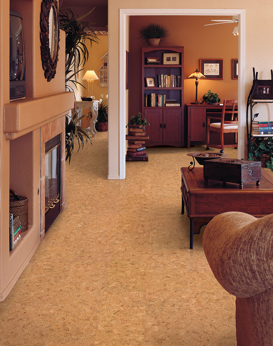 Usfloors natural cork traditional for Sustainable cork flooring