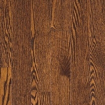Vintage Pioneered Solid Domestic Estate Bourbon Red Oak 3""