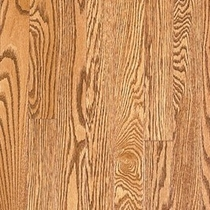 Vintage Pioneered Solid Domestic Estate Chablis Red Oak 3-1/4""