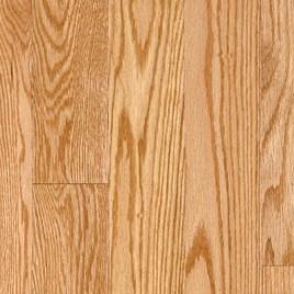 Vintage Pioneered Solid Domestic Estate Natural Red Oak 2-1/4""