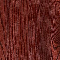 Vintage Pioneered Solid Domestic Estate Passion Red Oak 2-1/4""