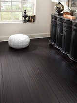 Wellmade Bamboo Engineered Strand Ebony Distressed