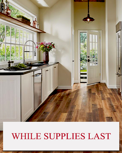 While Supplies Last Flooring Sale!