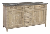 Bamboo Motif Double Vanity - 50% OFF