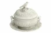 Bird Tureen w/ Stand - Small by Mottahedeh
