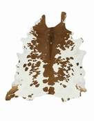 Brown White Special Cowhide
