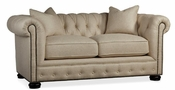 Tufted Chesterfield Love Seat - QS