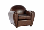 Cigar Leather Chair - QS