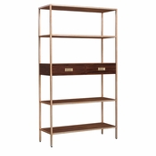 Etagere Bookcase with Drawers