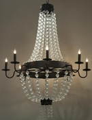 Frosted Chandelier