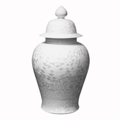 Large Crystal Shell Urn
