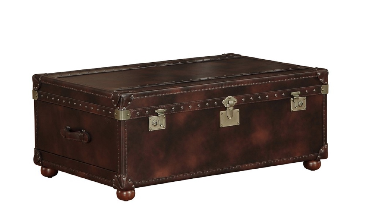 Leather trunk coffee table british home emporium leather trunk coffee table qs geotapseo Gallery