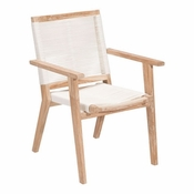 Teak Dining Chairs White Wash - Save 25%