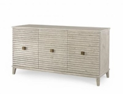 Scalloped Cabinet