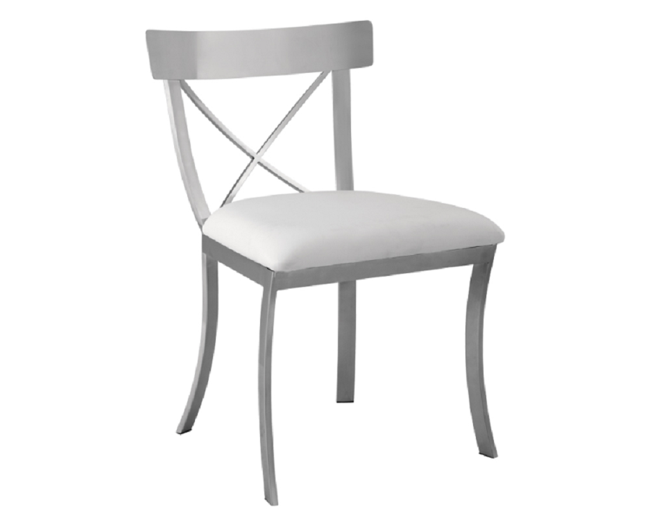 Steel X Back Dining Chair  sc 1 st  British Home Emporium & Steel X Back Dining Chair | British Home Emporium | BHE Studio