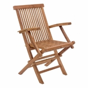 Teak Arm Dining Chair - Save 25%