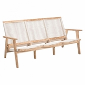 Teak Couch White Wash - Save 25%