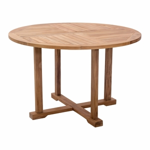 Teak Round Dining Table - Save 25%