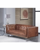 Telluride Leather Love Seat - QS