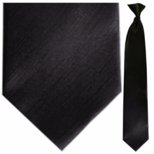 Black Clip on Ties � Safety and Professionalism in Hazardous Occupations