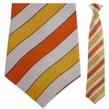 Dropping the Solid and Using Combination Patterns: Matching Ties and Shirts