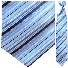 Men's Woven Blue multi striped Tie