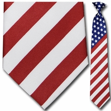 Men's U.S. Flag Theme Necktie