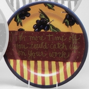 Advice- Grape Dinner Plate