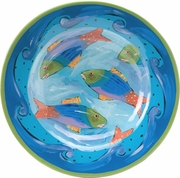 Angelina Fish/ Big Rimmed Bowl